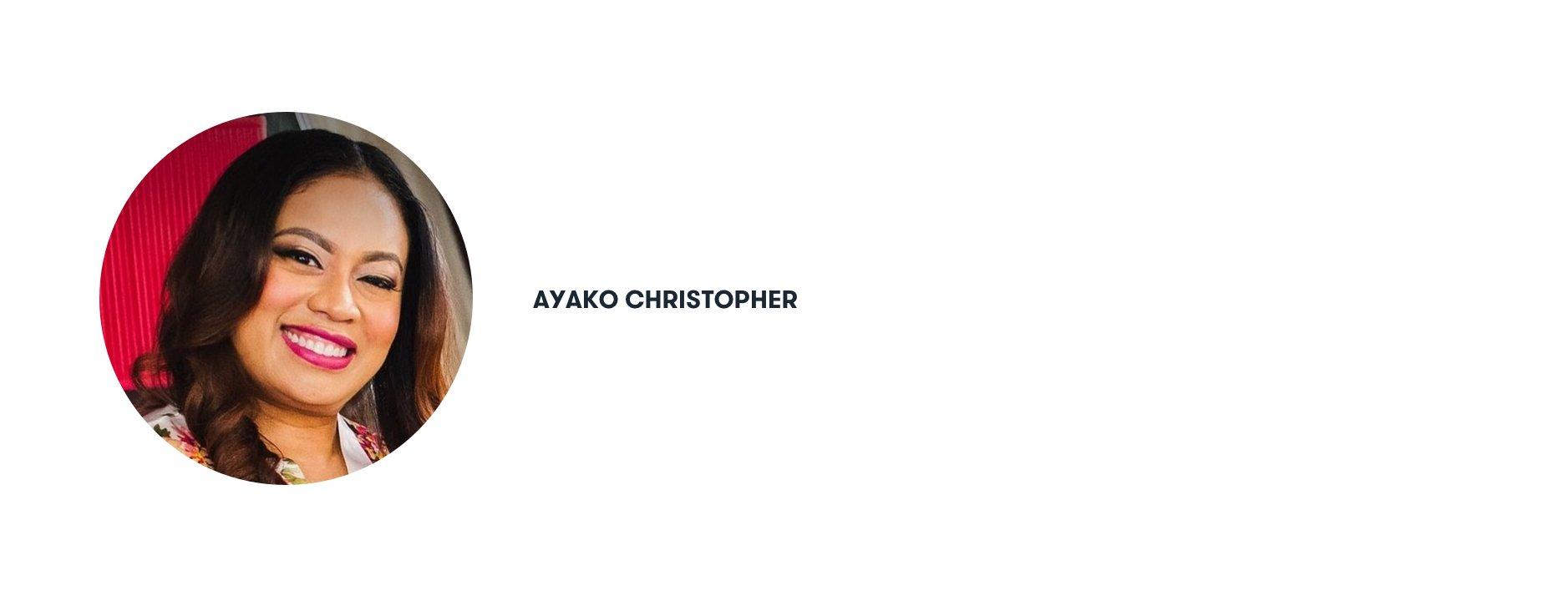 Ayako Christopher